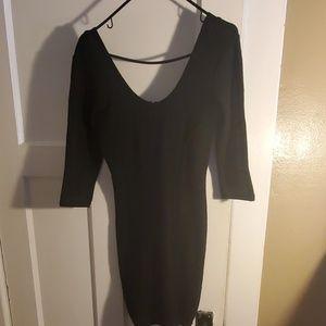 Guess Black Bodycon Dress